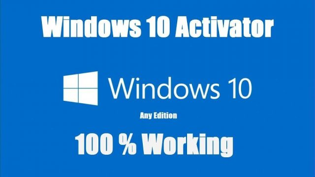 Windows 10 Activator - Product Key - Loader - KMS Activator {Latest 2019}