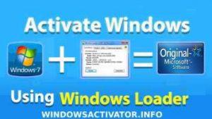 Windows Loader - Windows 7 Loader Activator Free Download Latest 2020