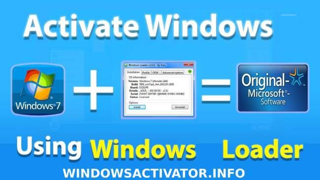 Windows 7 Loader Activator with Crack 2021 Download [32/64 Bit]