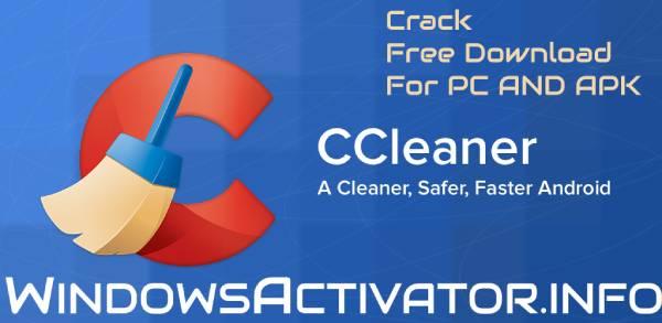 Ccleaner Crack - Free Download Ccleaner Pro Crack For PC | APK | {2019}