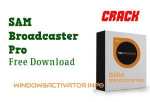 SAM Broadcaster Pro 2021 Crack + Registration Key [Latest] Download