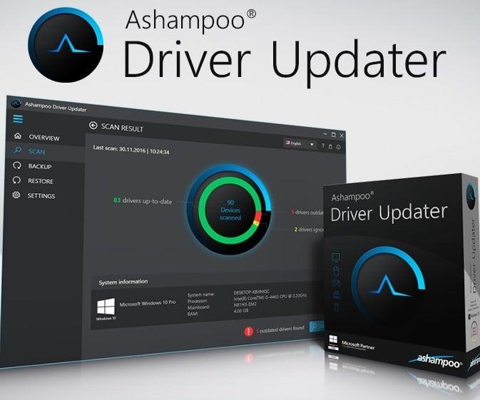 Ashampoo Driver Updater 1.5.00 Crack Free Activation Key Latest [2021]