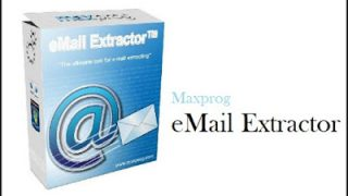 Maxprog eMail Extractor 3.8.4 Crack + Serial Key Full [Latest] 2022